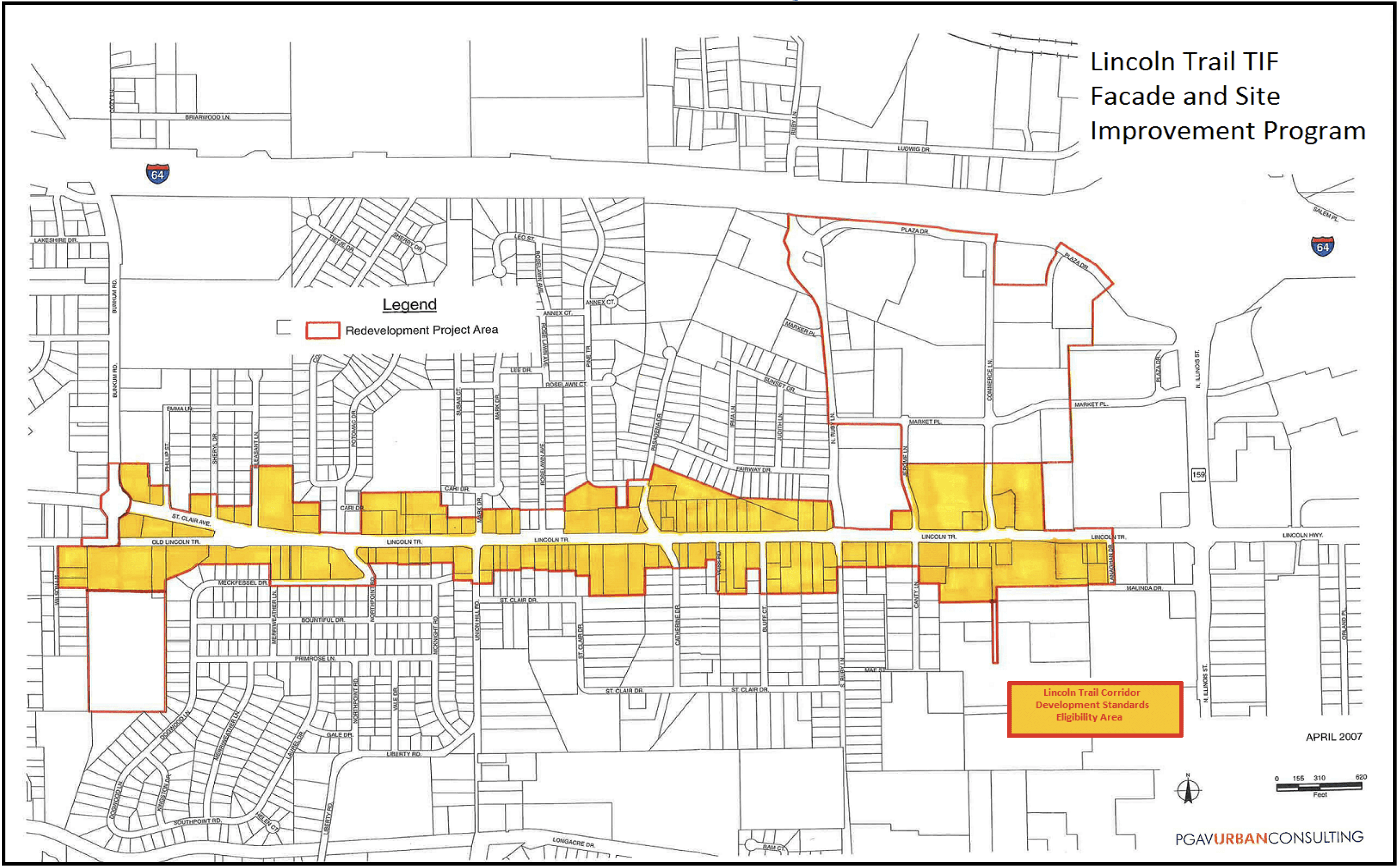 Fairview Heights TIF Districts